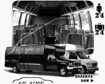 Bus for airport transfers in Virginia Beach VA