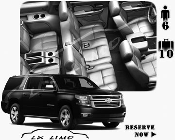 SUV Suburban for hire in Virginia Beach