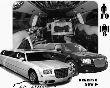 Chrysler 300 Limo in Virginia Beach for wedding