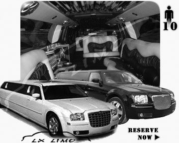 Chrysler 300 Limo for wedding in Virginia Beach
